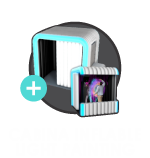 Light Painting Cabina Inflable